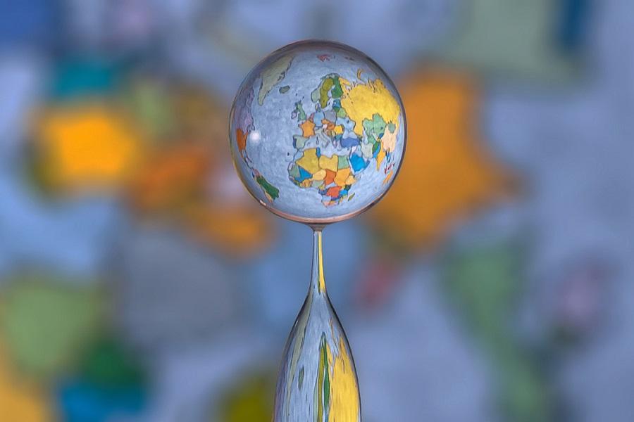 O mundo em uma gota de água