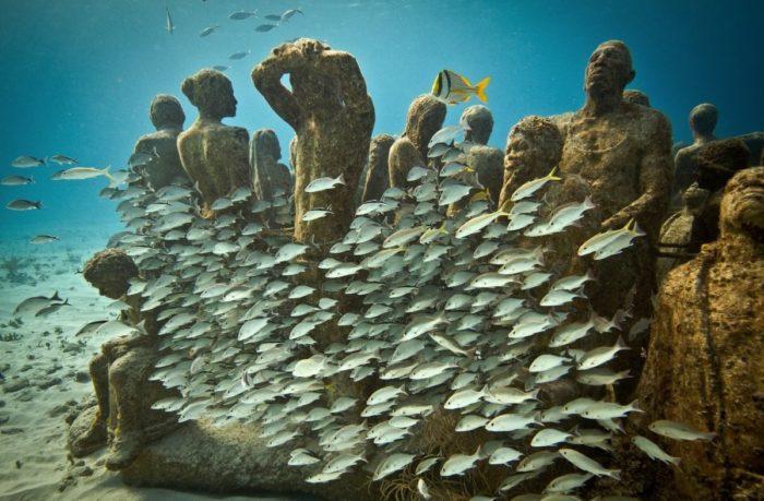 Museu Subaquático de Arte (MUSA) – Cancun, México