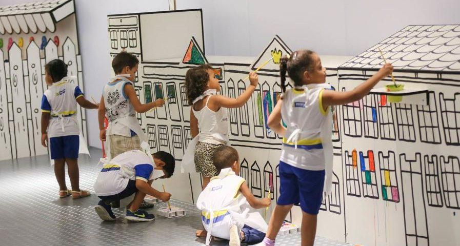 Cidade Colorir Acao No Riomar Fortaleza Promove Experiencia