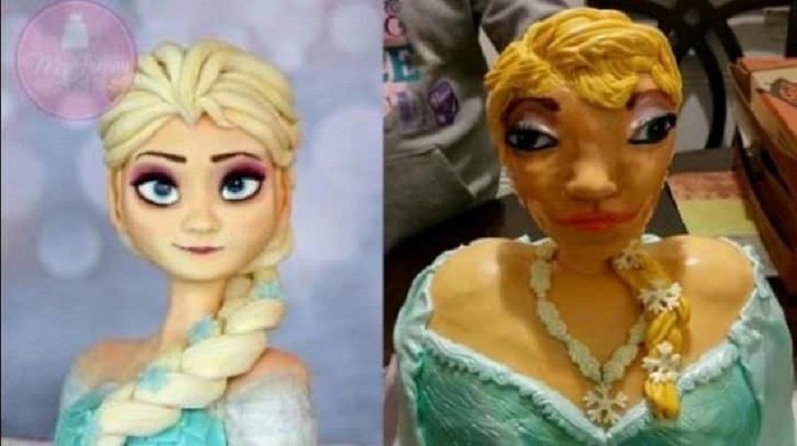 O dia em que a Elsa virou um personagem de Nas Garras da Patrulha...