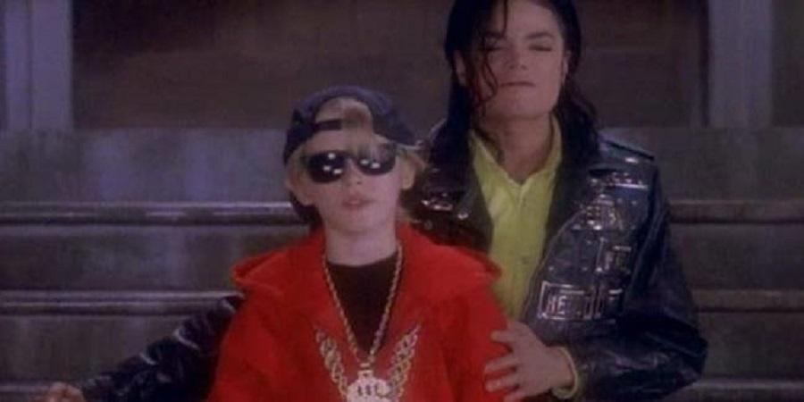 Macauley Culkin e Michael Jackson