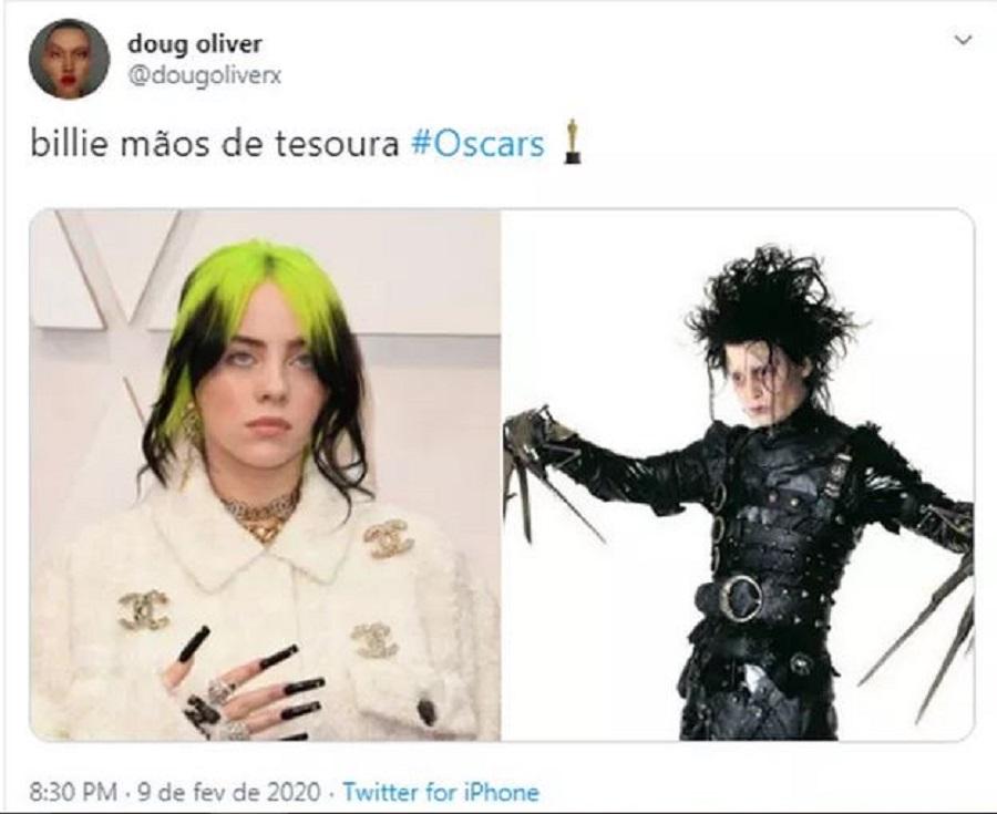 memes do Oscar 2020