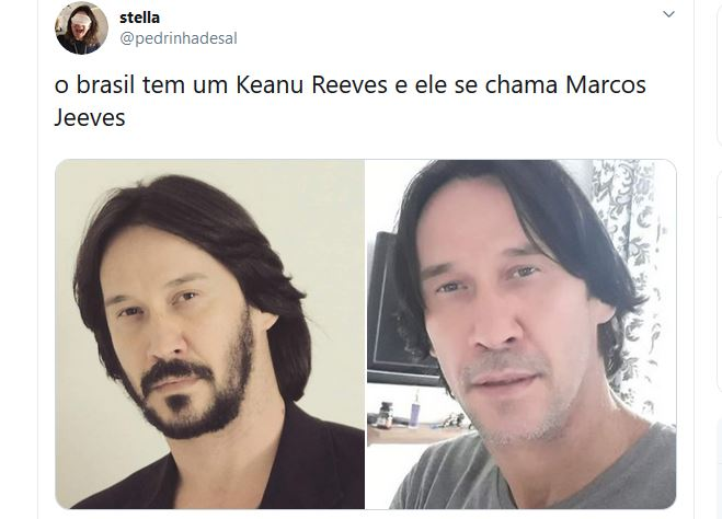Keanu Reeves é brasileiro