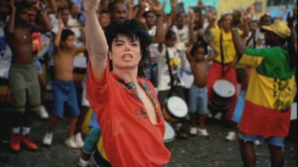 clipe de Michael Jackson