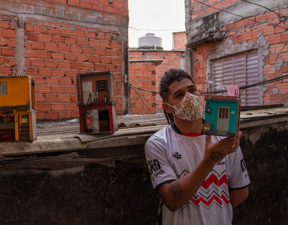 favela em miniatura