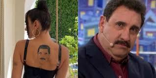 tatuagem da Dua Lipa