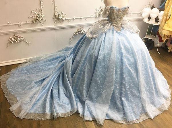 Vestido da Cinderella: criação real de um dos vestidos das princesas da Disney