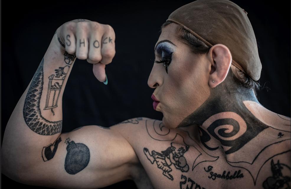 drag queen lutadora de MMA