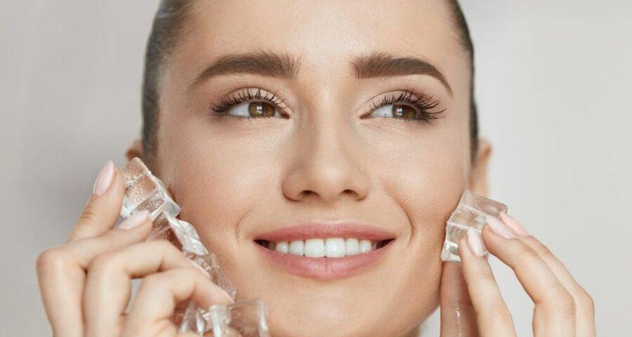 gelo no skincare é o mais novo truque de beleza
