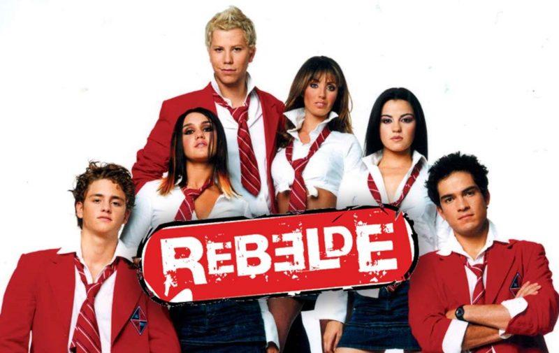 Rebelde na Globoplay