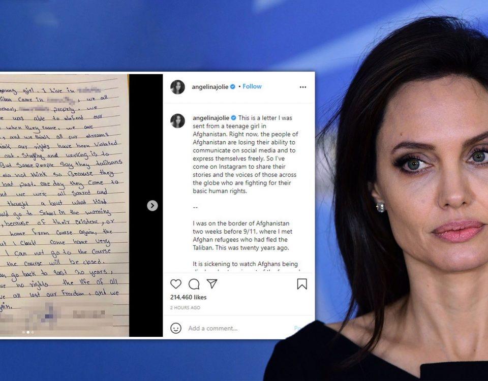 Angelina Jolie no Instagram