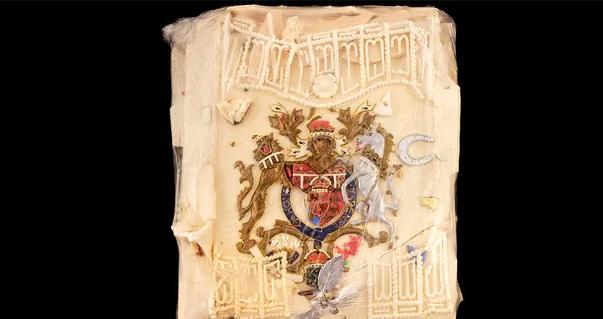 bolo de casamento da Princesa Diana